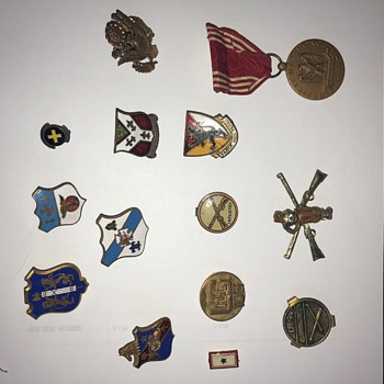 WWII Pins - Military and Wartime