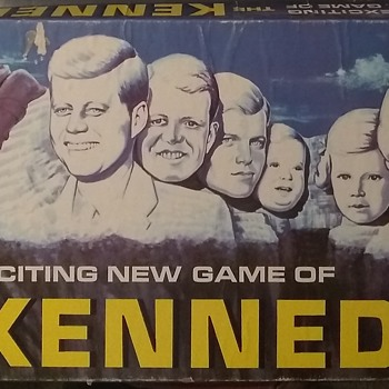 The Exciting New Game of THE KENNEDYS - Games