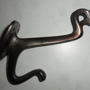 Cast Iron Coat Hook - Tools and Hardware