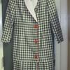 Lilli Ann Checkered Wrap Dress