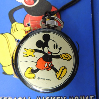 More on Mickey lapel watches - Wristwatches