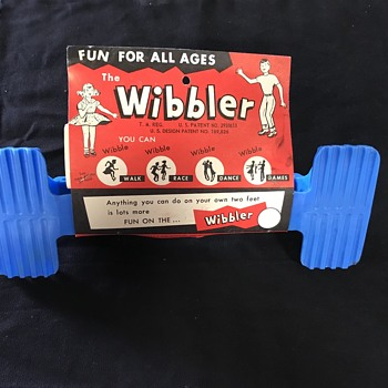 The Wibbler toy from the 1960's  - Toys