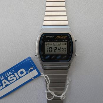 Vintage 1980-90s Casio watches