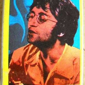 Vintage John Lennon matchbook