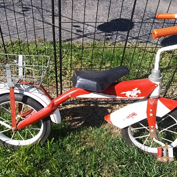 This little kids bike has a name ?  - Sporting Goods