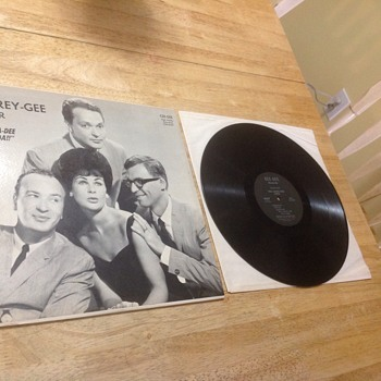 the carey gee four lp record album autographed  - Records