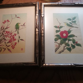 2 Antique  asian paintings? - Asian