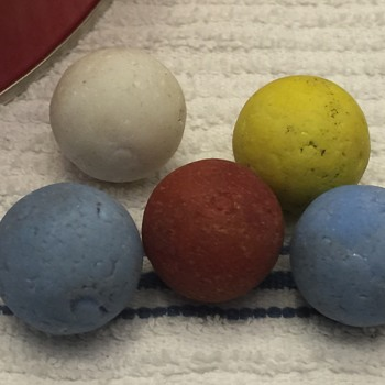 More Marbles That were Found Unknown ?? - Art Glass