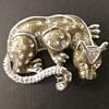 St John jaguar brooch
