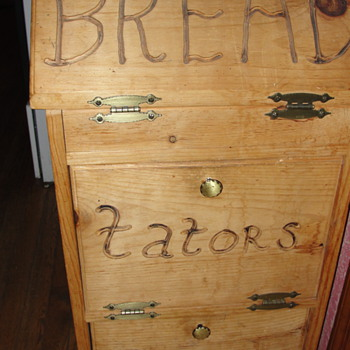 Folk Art Wooden Items - Furniture