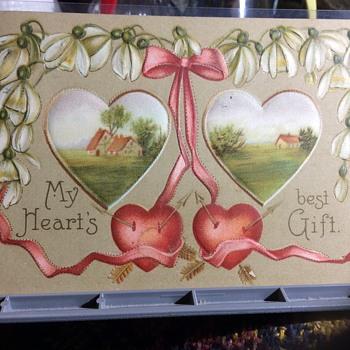 Saint Valentine — mardi Gras  - Postcards