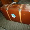 suitcase found at garage sale