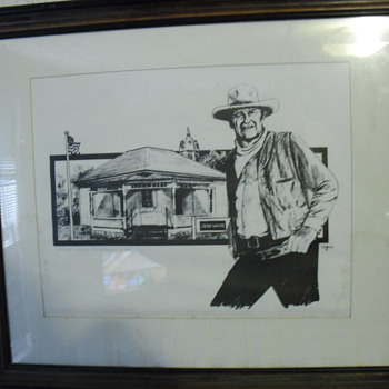 Limited John Wayne print - Posters and Prints