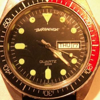 1968 Barracuda Men's Divers Watch ~ 200 Meters