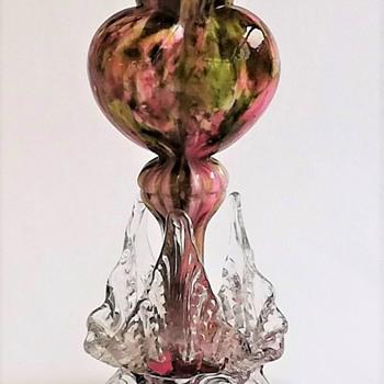 Welz Tri lobed Heart Shaped Life light - Art Glass