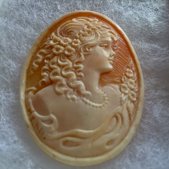 My New Favorite Cameo - Unmounted but Shadowbox Worthy - Fine Jewelry