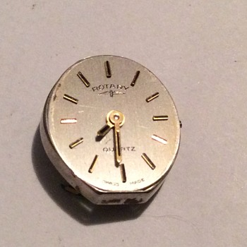 Old watch movement  - Wristwatches
