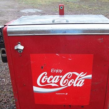 1943 coca cola machine 15 cents - Coca-Cola