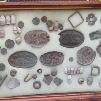 Civil War Relics Unearthed in Maryland - Military and Wartime