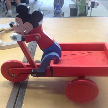 Disney moving push toys