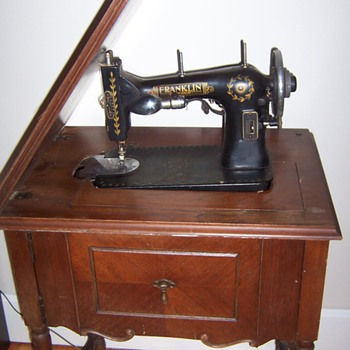 franklin sewing machine - Sewing