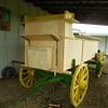 My wagon being restored.