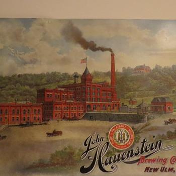 John Hauenstein Factory sign
