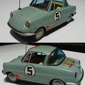 1960's Bandai mazda 2-door coupe ! - Toys