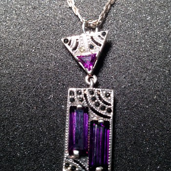 Art Deco Sterling Necklace
