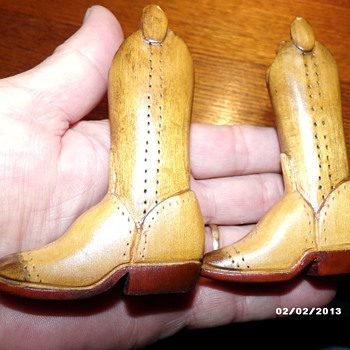 Hand Carved Cowboy Boots - Shoes