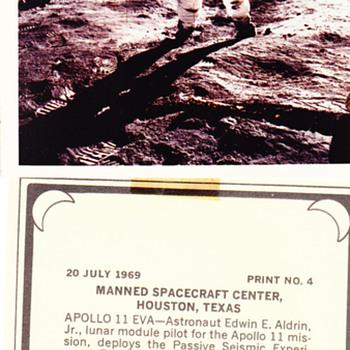 Apollo 11~Man On The Moon - Photographs