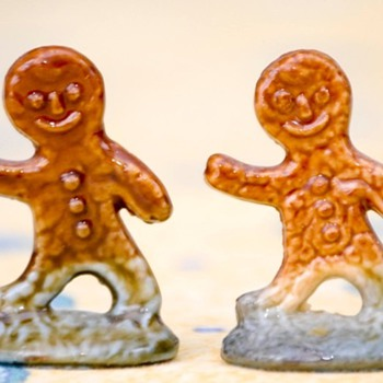 Tetley Tea Figurines - Pottery
