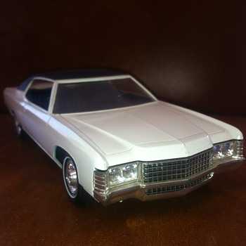 Dealer Promo of a 1971 Chevrolet Impala like my father's...