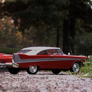 1958 Christine Plymouth - Model Cars