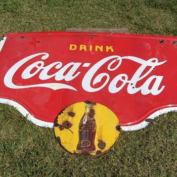 1938 Coca Cola Sign - Coca-Cola