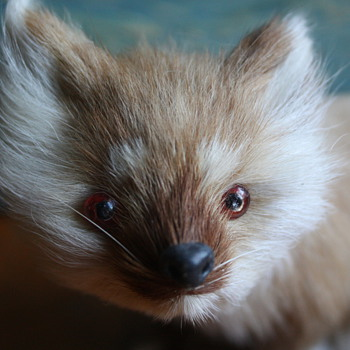 Fur Fox Figurine - Animals