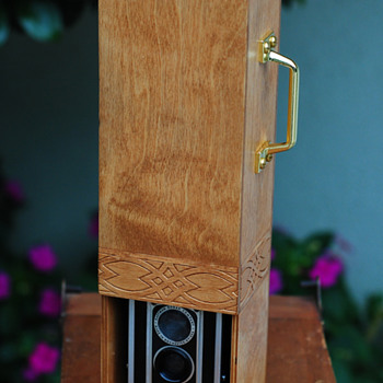 Vintage Kodak Duaflex I built into a birch TTV contraption - Cameras
