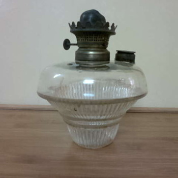 An antique old lamp... - Lamps