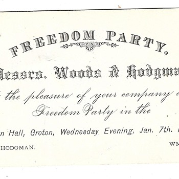 Anyone ever heard of a Freedom Party? - Paper