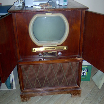 Old Zenith TV Set