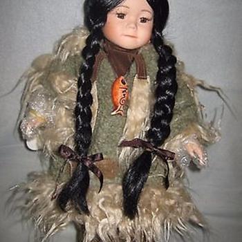 Alaskan porcelain doll