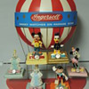 DISNEY INGERSOLL DISPLAY WITH WATCHES