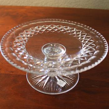 Late Period American Cut Glass Compote