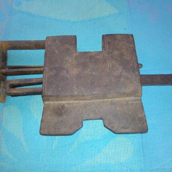 Antique Lock with amazing opening mechanism - Tools and Hardware