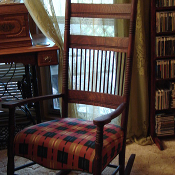 Do you know anything about my rocking chair?