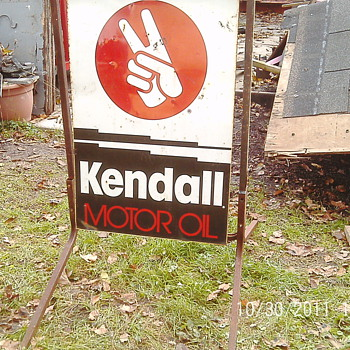 motoroil sign - Signs