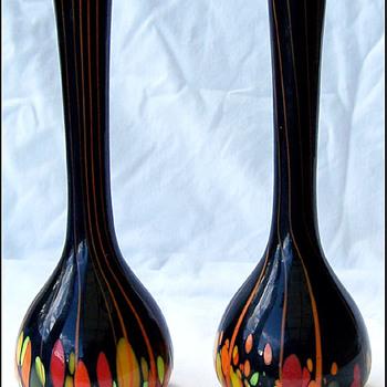 KRALIK SPOTS AND STRIPES  - Art Glass