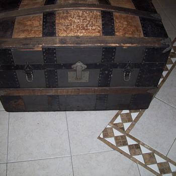 Restored Dome Top Trunk - Furniture