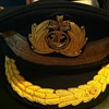 Post war IJN officer's hat