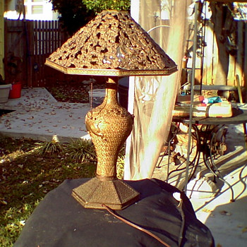Antique orential lamp.  - Lamps